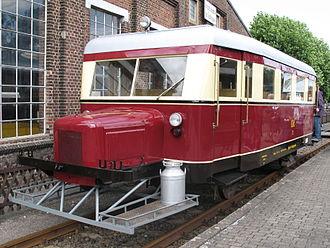 Wismar railbus - Wismar railbus at Bochum Dahlhausen Railway Museum