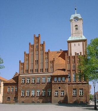 Wittstock - Town hall