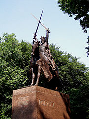 Equestrian statue of Wladyslaw II Jagiello, Central Park, New York