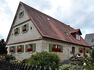 Byre-dwelling - Modern era byre-dwelling in Bavaria (Eckersdorf, Upper Franconia)