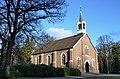 Wonderful sceneric enlighting of the church of Schaarsbergen at 2 Februari 2013 - panoramio.jpg