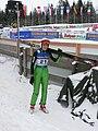 World Junior Ski Championship 2010 Hinterzarten Evelyn Insam 1043.JPG