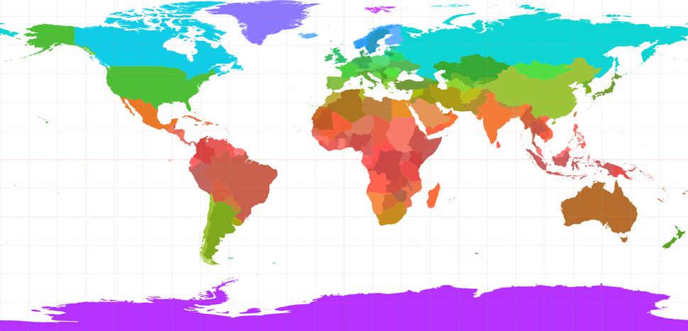 World borders geo hsi