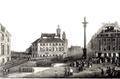 Wprowadzene na Zamek Królewski jeńców i szandarow zdobytych pod Wawrem i Dębem Wielkim 1831.PNG
