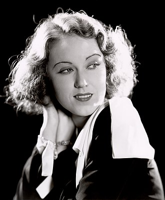 Fay Wray - Studio publicity photo