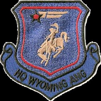 Wyoming Air National Guard - Image: Wyoming Air National Guard Emblem