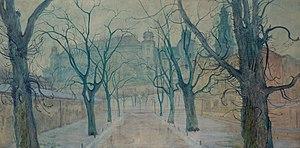 Stanisław Wyspiański - Planty Park at Dawn, 1894