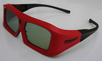 XpanD 3D - New XpanD glasses X103 Infinity