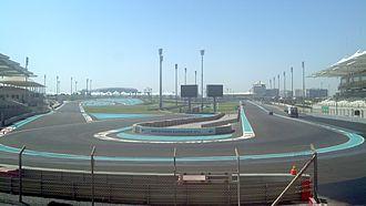 Abu Dhabi Grand Prix - Image: Yas Marina 1