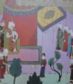 Yavuz Sultan Selim'e Kansu-Gavri'nin kesik basinin getirilmesi (cropped).png
