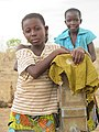 Young girls goes out to find out water for their homes.jpg