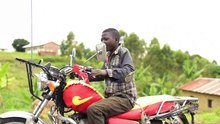 File:Young teenage learning how to ride a motorcycle.webm