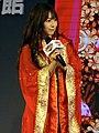 Yua Mikami on Taiwan Pavilion stage, Taipei Game Show 20180127b.jpg