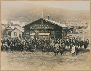 Discovery Day - Yukon Order of Pioneers, Discovery Pat August 17, 1913.