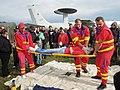 ZZS MSK, záchranáři, zajištění krční páteře a transport na scoop rámu (10).jpg
