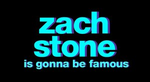Zach Stone Is Gonna Be Famous - Image: Zach Stone Logo