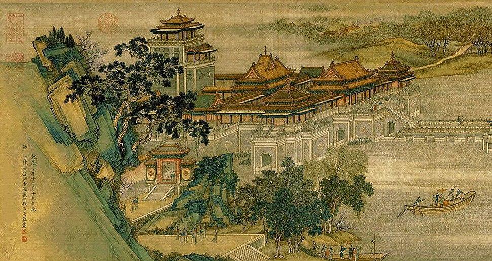 Zhang Zeduan Along the River During the Qingming Festival detail