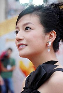 Chinese actress, singer and film director