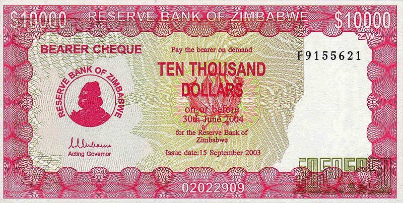 When Zimbabwe Became An Independent African State In 1980 The Dollar Was Actually Valued Higher Than Us At A Rate Of 1 To 25