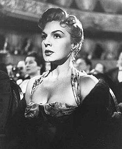 Zully Moreno ĉe la teatro ĉ. 1958