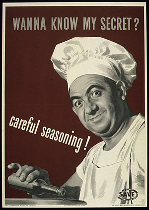 """WANNA KNOW MY SECRET^ CAREFUL SEASONING&..."