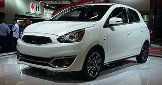 Mitsubishi Motors North America - Image: '17 Mitsubishi Mirage (MIAS '16)