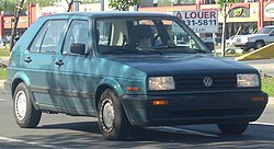 '90-'92 Volkswagen Golf 5-Door.JPG