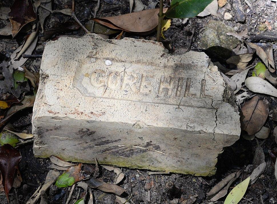 (1)Gore Hill brick