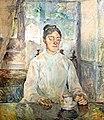 (Albi) La Comtesse Adèle de Toulouse-Lautrec petit déjeune au Château de Malromé - Toulouse-Lautrec vers 1883.jpg