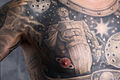 (Man) Chest tattoo. Monument to Yuri Gagarin (astronaut) in Moscow - 1. Color.jpg