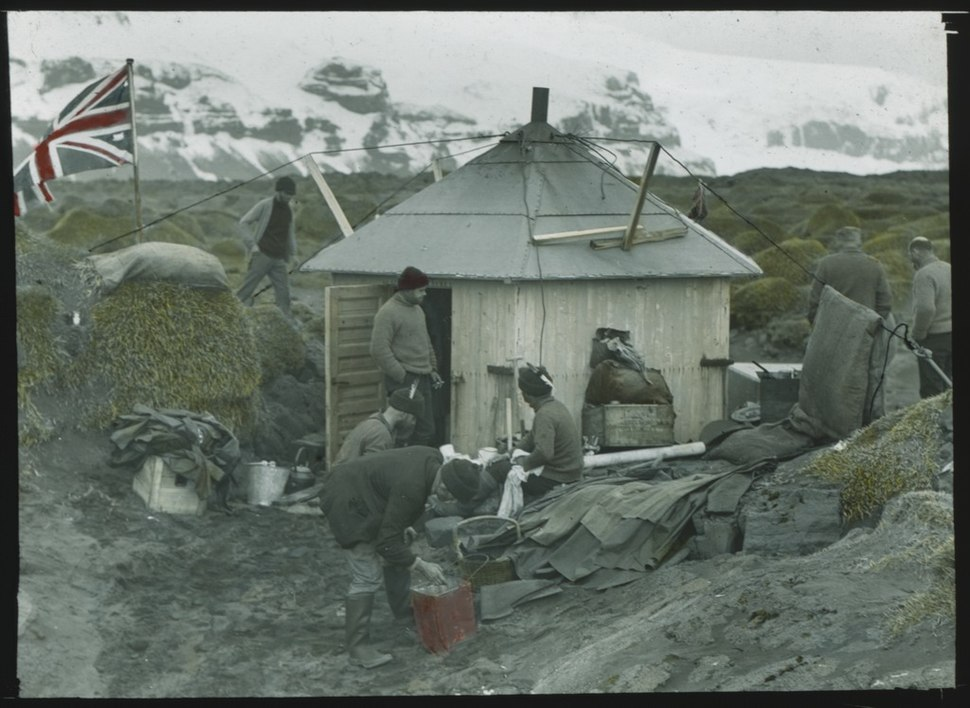 (The abode of science on Heard Island, BANZARE, 1929) (6173425701)