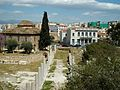 Àgora romana i mesquita Fethiye, Atenes.JPG