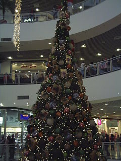 Árvore de natal do shopping boulevard tatuapé