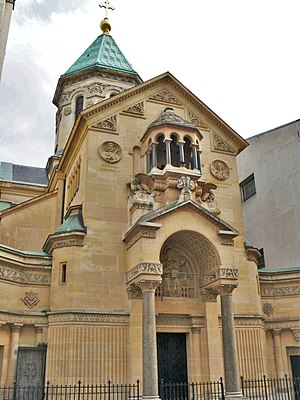 Armenians in France - St. John the Baptist Cathedral in Paris