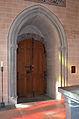 Église réformée Saint-Martin de Vevey - 18 - chœur - porte vers le péristyle.jpg