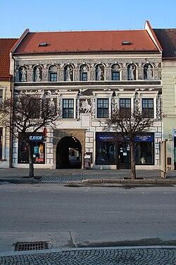 Černý dům at Charles's square in Třebíč, Třebíč District.jpg