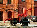 ŁÓDŹ - ULICA TYMIENIECKIEGO Straż Pożarna Fabryki Scheiblera i Grohmana, maszyna parowa - panoramio.jpg