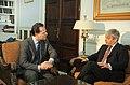 Συνάντηση ΥΠΕΞ Δ. Δρούτσα με Προέδρο Βουλής Κοινοτήτων Ην. Βασιλείου J. Bercow - FM D. Droutsas meets with Speaker of the House of Commons of the UK J. Bercow (5785474373).jpg