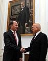 Συνάντηση ΥΠΕΞ Σταύρο Δήμα με τον Πρέσβυ των ΗΠΑ Daniel Bennett Smith.jpg