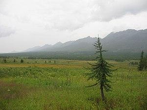 Pechora - View of Sablya Reserve outside Pechora
