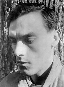 Arseny Tarkovsky in the mid 1930s.