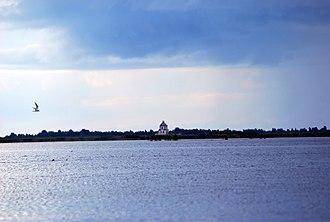 Lake Beloye (Vologda Oblast) - Image: Белое озеро Вологодская область