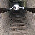 Выход из пирамиды. Вид из гробницы . Египет . Каир . Гиза..JPG