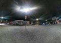 Главная площадь города Заполярный, улица Мира.jpg