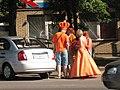 Голландские фанаты в Харькове 2012.JPG