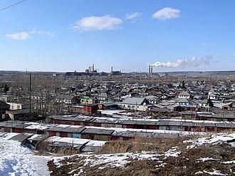 Novosibirsk Oblast - Image: Город Искитим