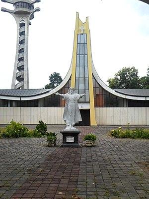 Cathedral of Saint Bonaventure, Banja Luka - Image: Католичка црква похода Блажене Дјевице Марије Светој Елизабети 10