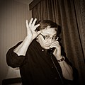 Михаил Шемякин. Фото Анастасии Федоренко.JPG