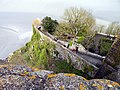 Мон-сен-Мишель.Монастырские сады.jpg