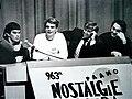 Музыканты группы «Кино», Додолев и Айзеншпис на презентации «Чёрного альбома».jpg